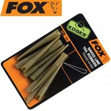 Антизакручиватель зиг-риг FOX CAC636 Edges Naked Line Tail Rubbers