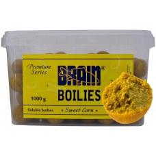 Бойлы Brain Boilies Soluble 1kg 16/20мм