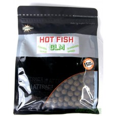 Бойлы Dynamite Baits Hi Attract Hot Fish & GLM Boilies
