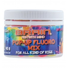 Бойлы поп-ап Brain Pop-Up Fluo Mix 40g 12-14-16mm