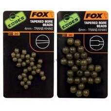 Бусина с/конусным отверстием FOX Edges tapered bore beads