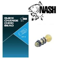 Быстросъемник поводка чод-риг NASH Quick Change Chod Bead