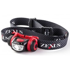 Фонарь налобный Zexus ZX-250 BK 90 lm ipx4