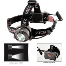 Фонарь налобный Zexus ZX-310 Professional 150 lm