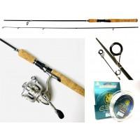 Комплект для ловли окуня Ebisu Fishing