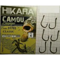 Крючок Hikara Camou BR Carp Classic