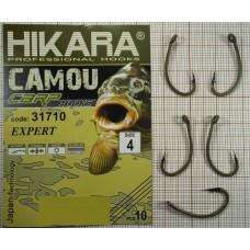 Крючок Hikara Camou BR Carp Expert