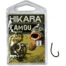 Крючок Hikara Camou BR Carp Extreme