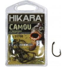 Крючок Hikara Camou BR Carp Select