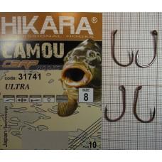 Крючок Hikara Camou BR Carp Ultra