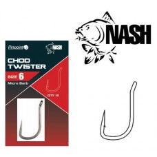 Крючок NASH Pinpoint Chod Twister Micro Barb