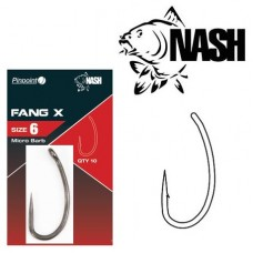 Крючок NASH Pinpoint Fang X Micro Barb