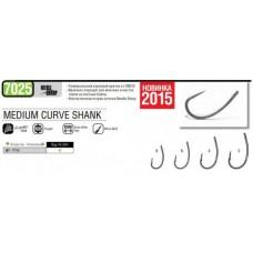 Крючок VMC Mystic Carp Curve Shank 7025NT