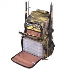 Рюкзак с коробками SPRO Bag pack1 Camouflage 33*20*45cm