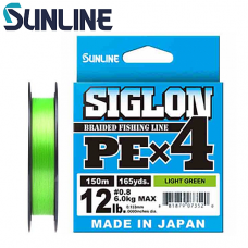 Шнур Sunline Siglon PEx4 150m (салат.)
