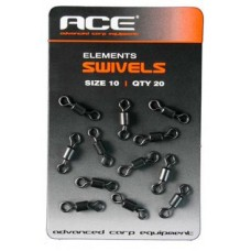 Вертлюг ACE Swivels 20шт